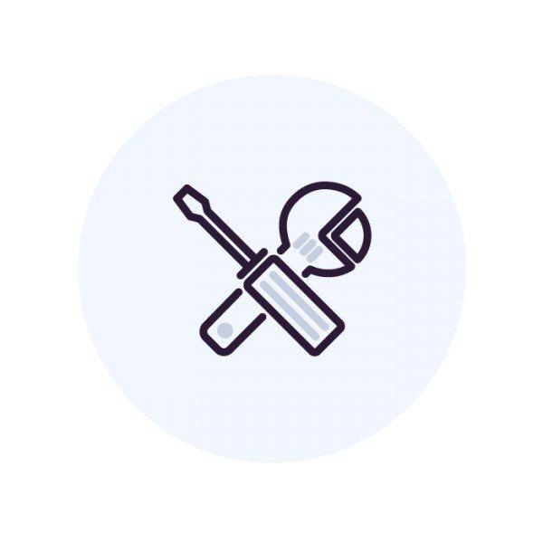 Прокладка трубки по готовым коммуникациям за 1 метр